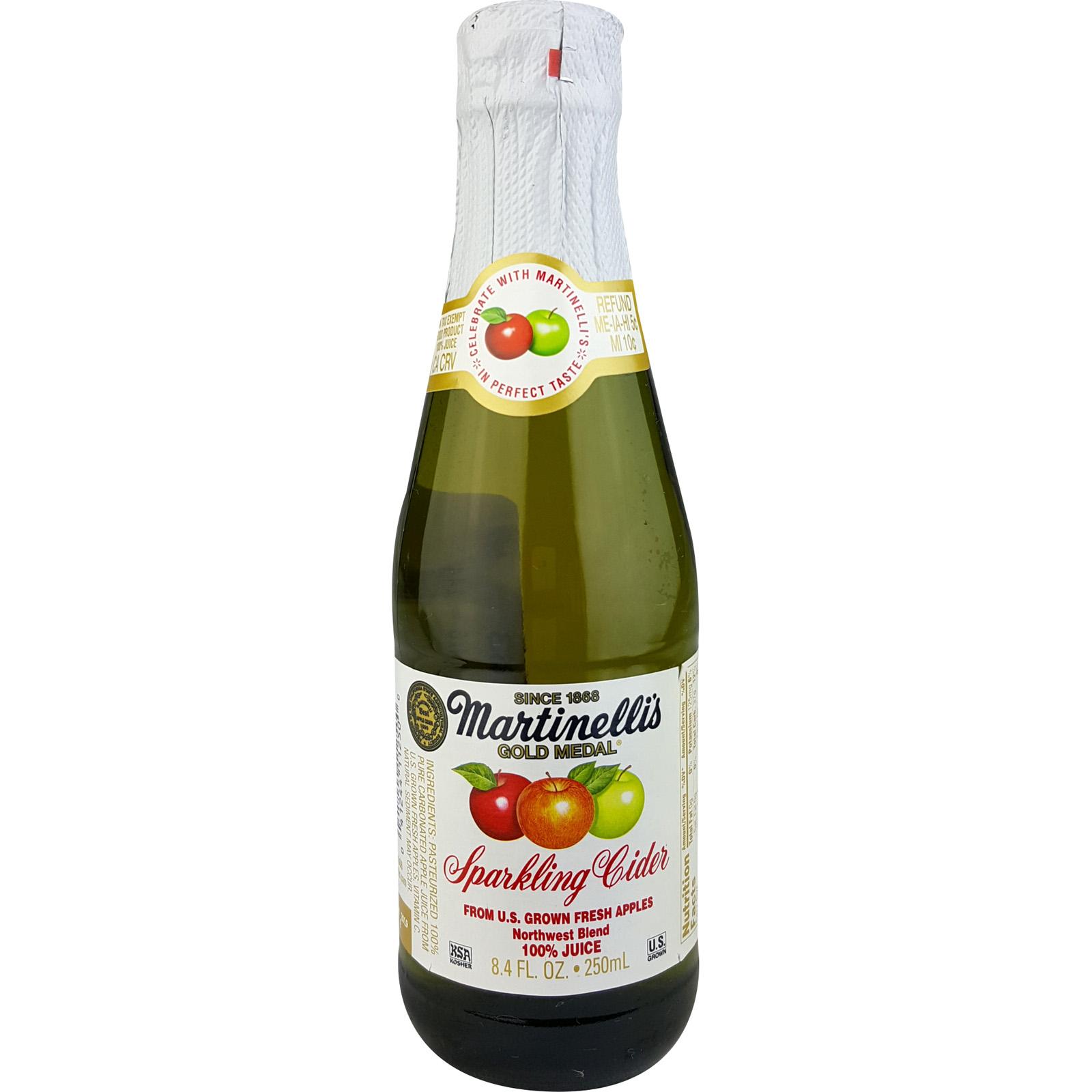 Martinelli S Sparkling Apple Cider Bulk Case 12
