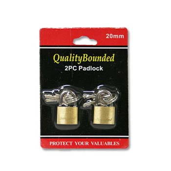 Brass Lock Set