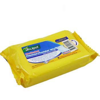 Hemorrhoidal Wipes