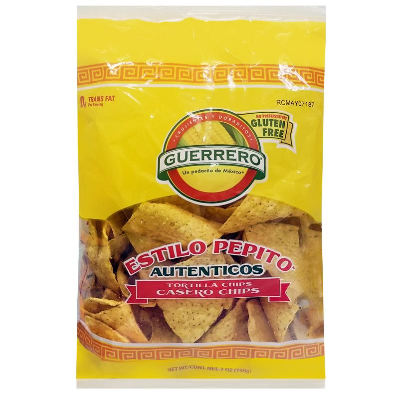 Guerrero Tortilla Chips Bulk Case 12