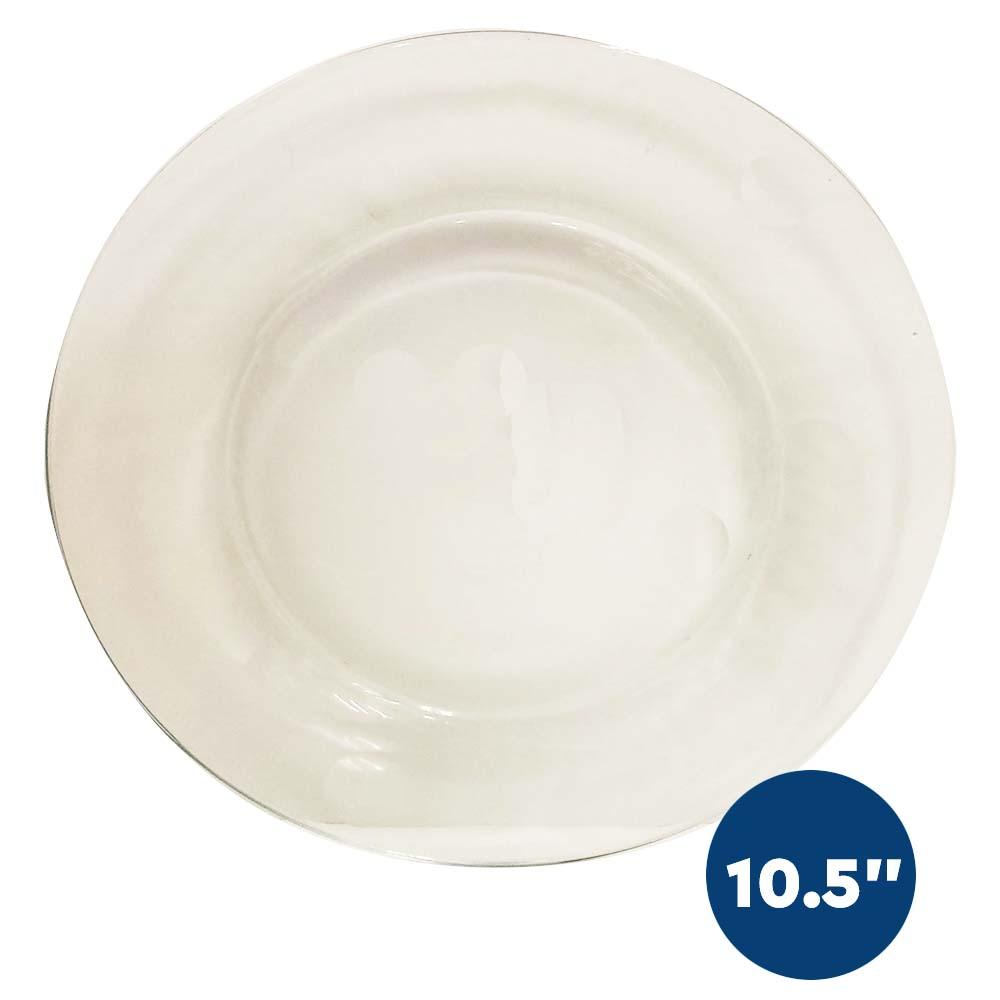 Libbey Glass Dinner Plate Bulk Case 12