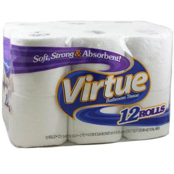 Virtue Bathroom Tissue Bulk Case 100