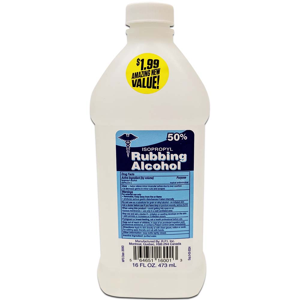 Rpi Rubbing Alcohol Bulk Case 24