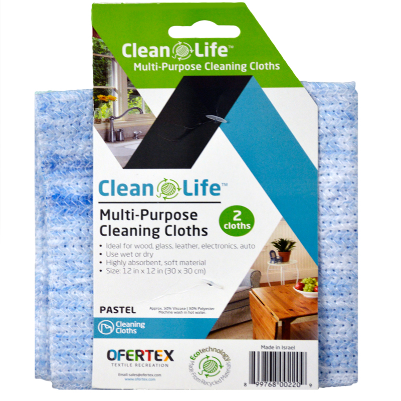 899768002209 UPC Cleaning Cloth Pastel, 12x12in, 2PK
