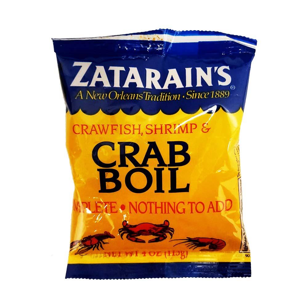 Zatarain S Crab Boil Mix Bulk Case 12
