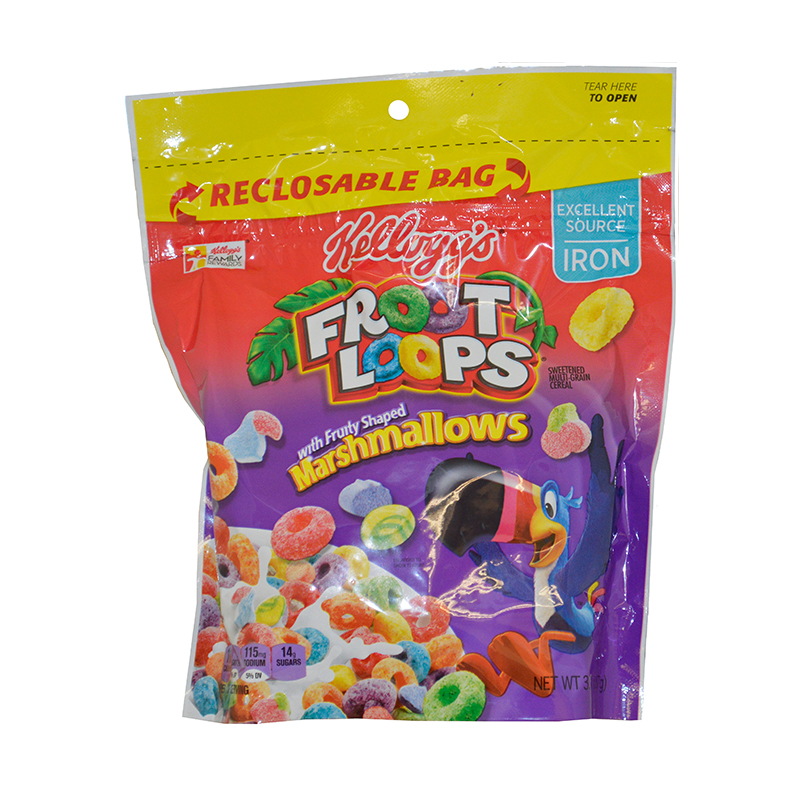 Kellog's Cereal Bag Bulk Case 6