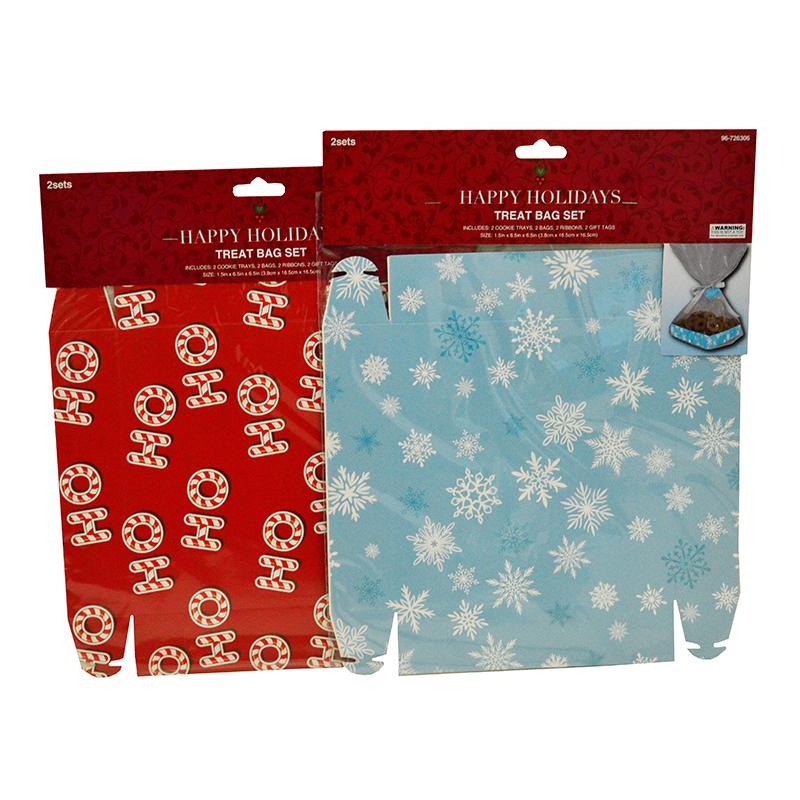 Christmas Bags In Bulk.Christmas Cookie Tray Bags Bulk Case