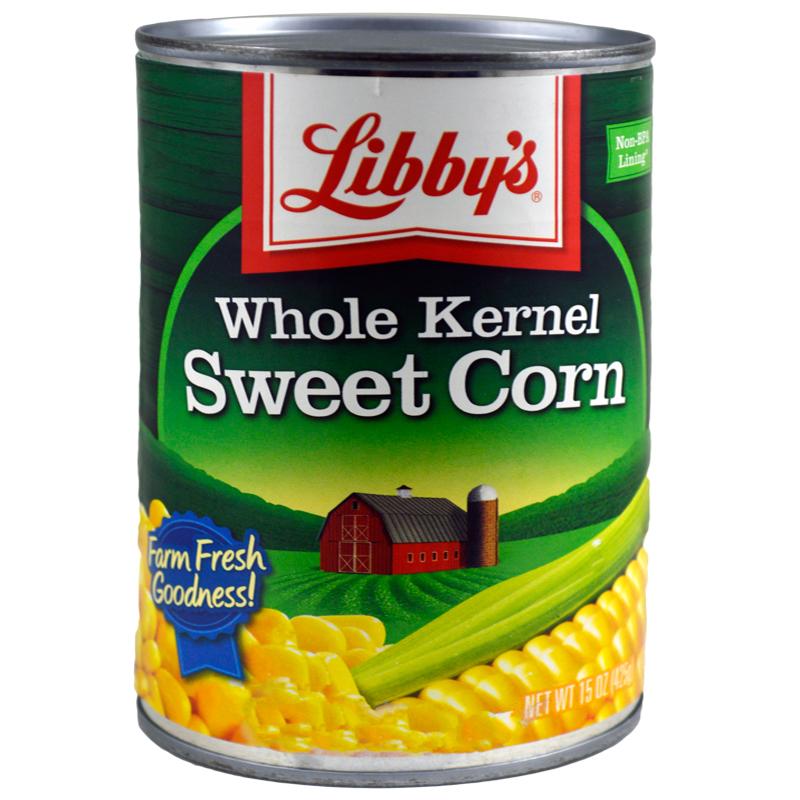 Libby's Corn Bulk Case 1