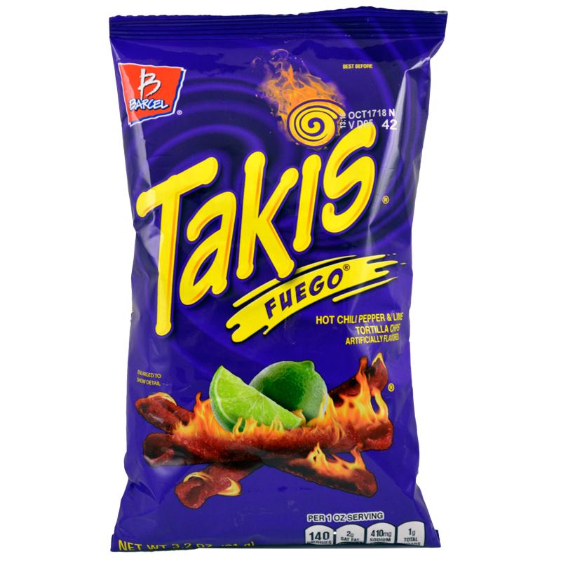 Takis Corn Snack Bulk Case 15