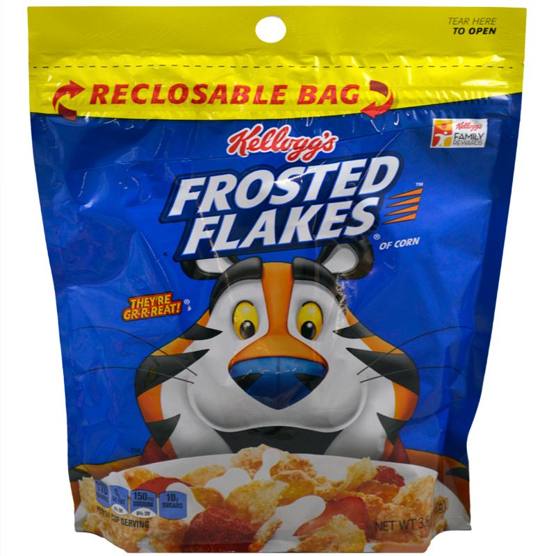 Kelloggs Cereal Bag Bulk Case