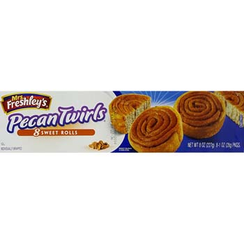 Pecan Twirls 8ct 8oz