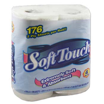 Bath Tissue Ultra 4 Rolls 2ply 176 Sheets