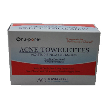 Acne Towelettes