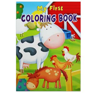 Drug Store Item My First Coloring Book