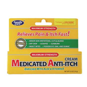 Anti-Itch Cream