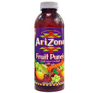 Juice Fruit Punch 20oz