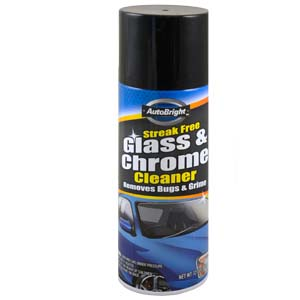 Auto Glass-Chrome Cleaner
