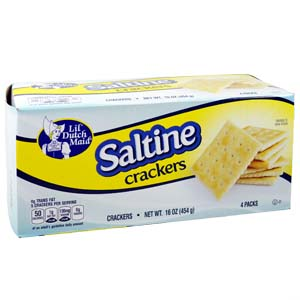 Grocery Store Item - Saltine Crackers