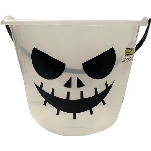 Halloween Glow In The Dark Pumpkin Pail