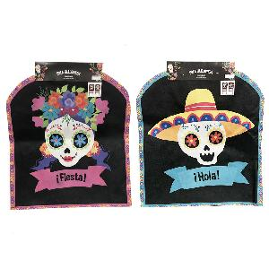 Halloween Day of the Dead Chair Cover