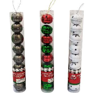 Christmas Metal Bell Ornament