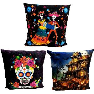 Halloween Plush LED Pillow