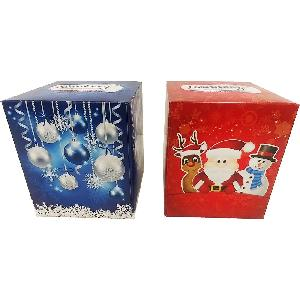 Facial Tissue Cube Holidays