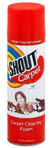 Carpet Cleaner Aerosol