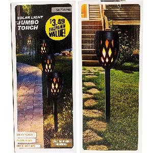 Solar Light Jumbo Torch
