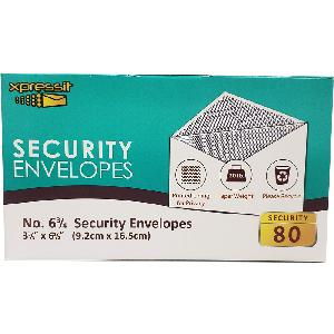 Security Envelopes Gum Closure
