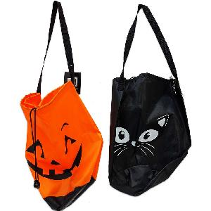 Halloween Candy Drawstring Bag