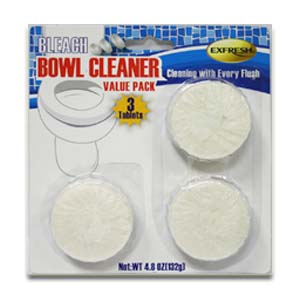 Tablet Bowl Bleach Cleaner