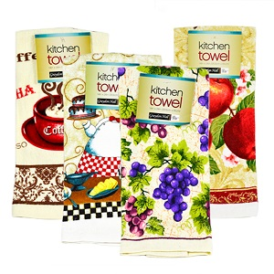 Kitchen Towels Bulk Case 36