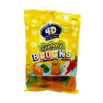 Easter 4D Gummy Block Candy