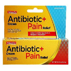 Antibiotic + Pain Relief